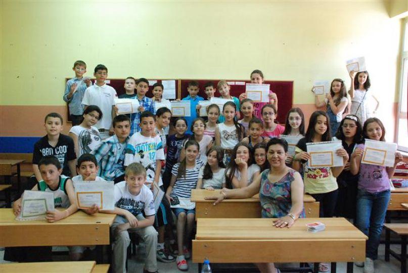 Edirne'de 59 bin öğrenci karne aldı