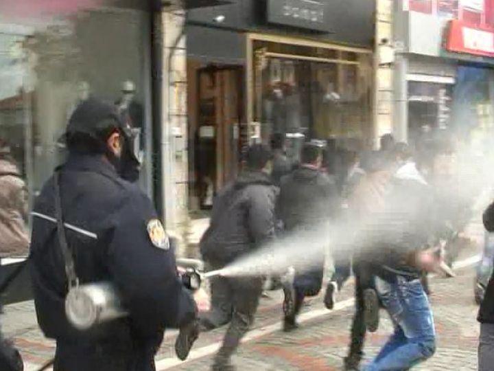 Edirne'de gergin dakikalar!