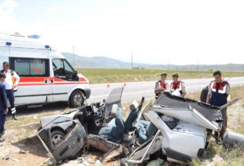 Edirne'de trafik kazalarına 915 kurban!