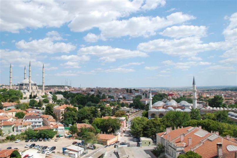 Edirne'ye kuş bakışı!