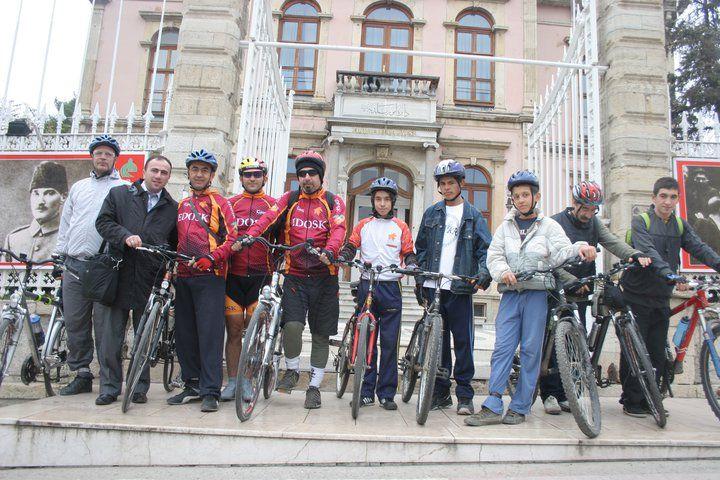 EDOSK'tan bisiklet şenliği!