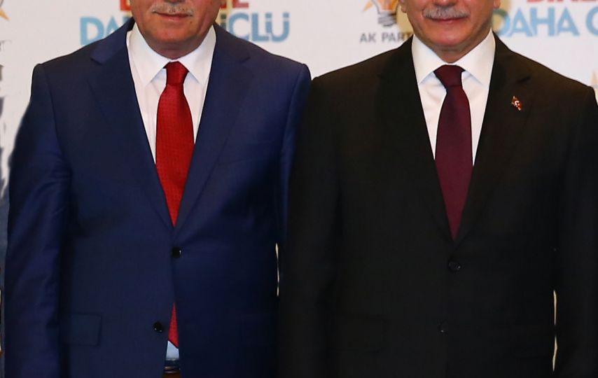 Emir Başbakan ve Cumhurbaşkanı ile bir araya geldi!