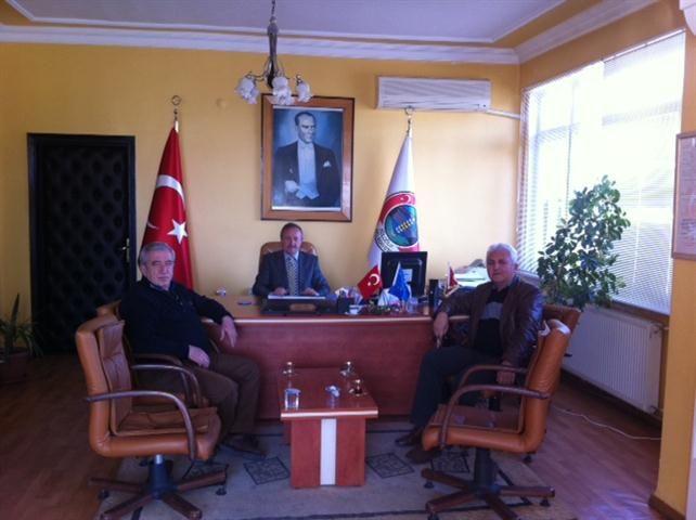 ETB Başkanı Yardımcı, Başkan Atik'i ziyaret etti!