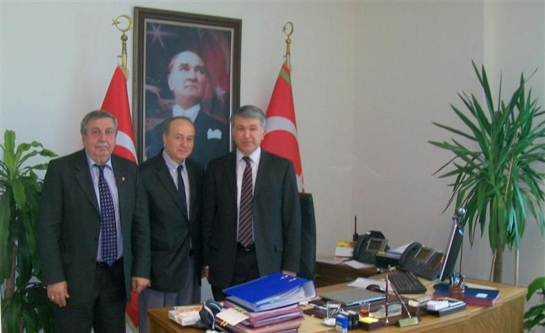 ETSO heyeti, Trakya Gümrük ve Ticaret Bölge Müdür'ü Yalçın'ı ziyaret etti