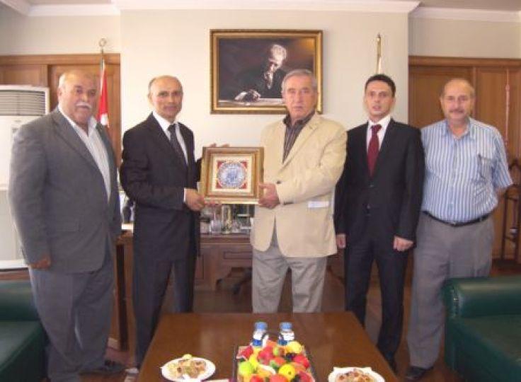 Grup Başkanı Başkal'dan Yardımcı'ya ziyaret