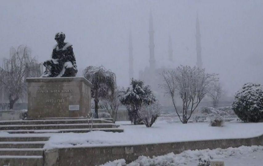 Kar Balkanlar'dan geldi!