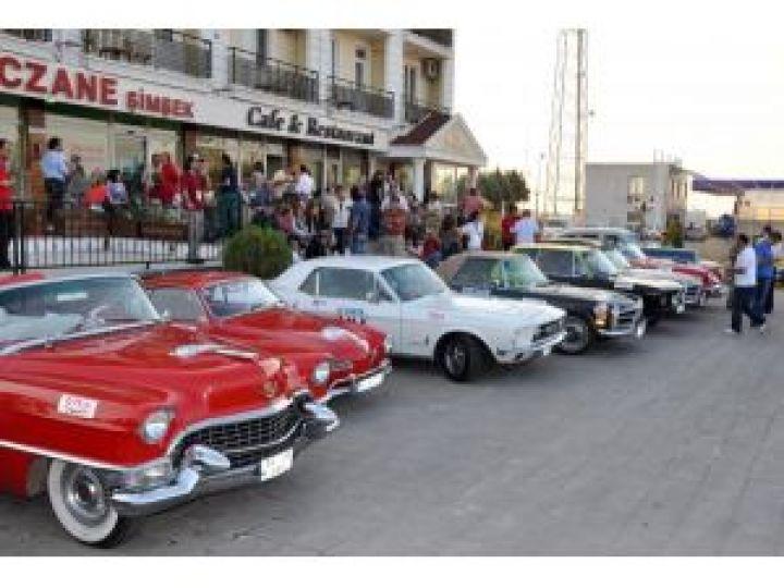 Klasik otolar Edirne'den geçti!