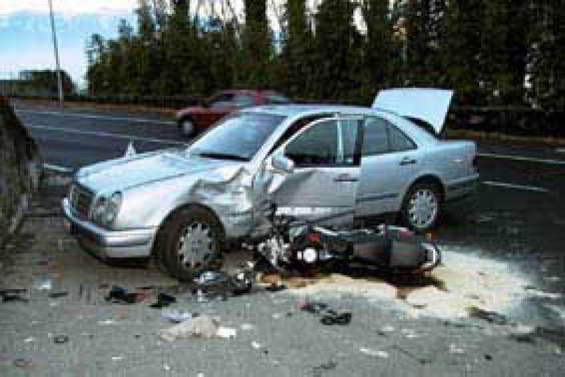 Motosiklet kazalarına dikkat çekildi