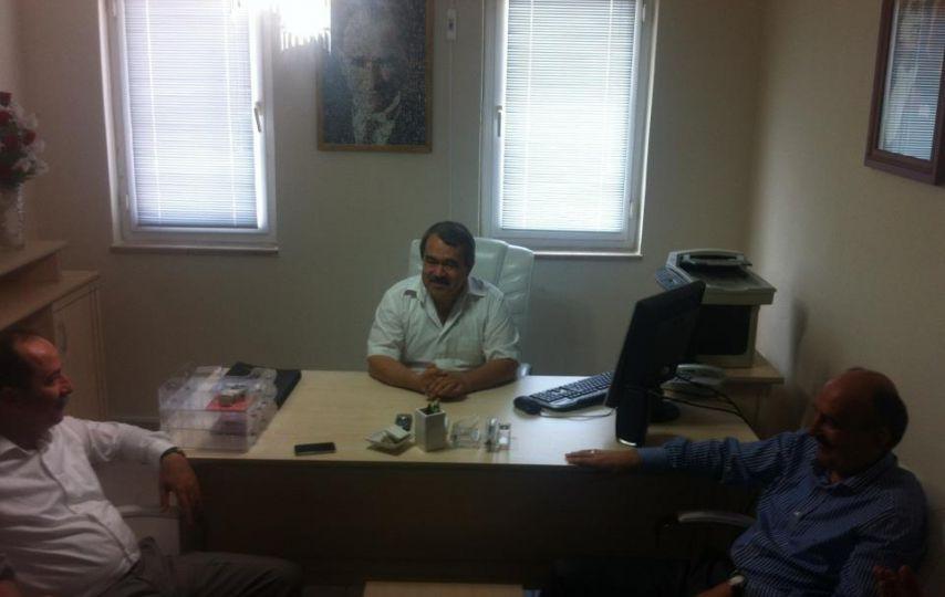 Müezzinoğlu'ndan CHP Edirne İl Başkanı Özdöl'e ziyaret