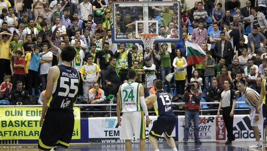 Olin Edirne: 48 - Fenerbahçe Ülker: 81