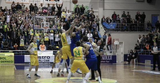 Olin Edirne : 91 - Antalya BŞB: 72