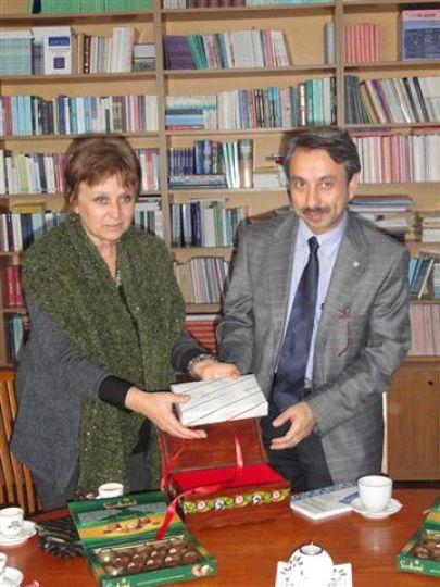 Rektör Yörük, Bulgaristan'da çeşitli ziyaretlerde bulundu