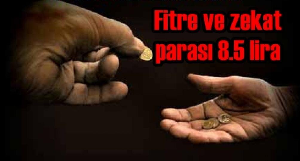 -Sadaka-i fıtır miktarı 8 buçuk lira olarak belirlendi