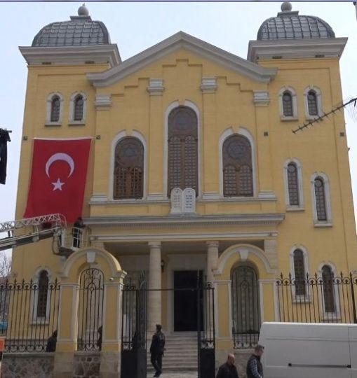 Sinagog açılışa hazır!