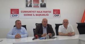 """Pekcanlı """"Büyükşehir belediyesi CHP'li olursa Edirne ve Trakya kazanacak!"""""""