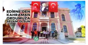 Gürkan'dan Mehmetçiğe selam!