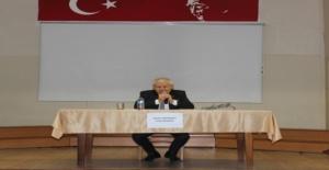 """Zıpkınkurt, Edirne Sosyal Bilimler Lisesinde düzenlenen """"Kariyer Günleri""""ne katıldı"""