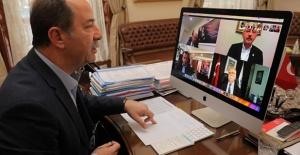CHP'li Belediye Başkanları telekonferansta bir araya geldi!