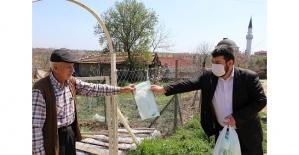 Maskeler köylere dağıtılıyor!