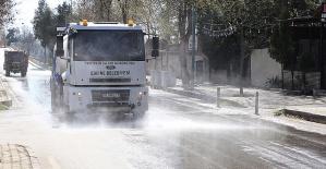 Sokaklar bayram süresince de dezenfekte edilecek!