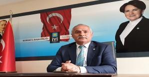 """İYİ Parti il Başkanı Demir"""" ekonominin..."""