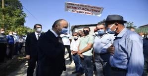 Musulça Köyü Cem Evi düzenlenen törenle hizmete açıldı.