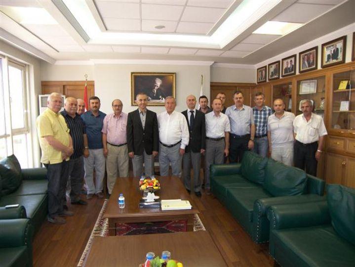 TMO Genel Müdürü Köse, ETB'yi ziyaret etti