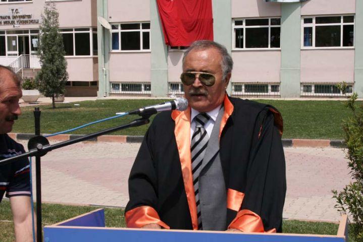 TÜ Rektör Yardımcısı Prof. Dr. Kırgız emekli oldu