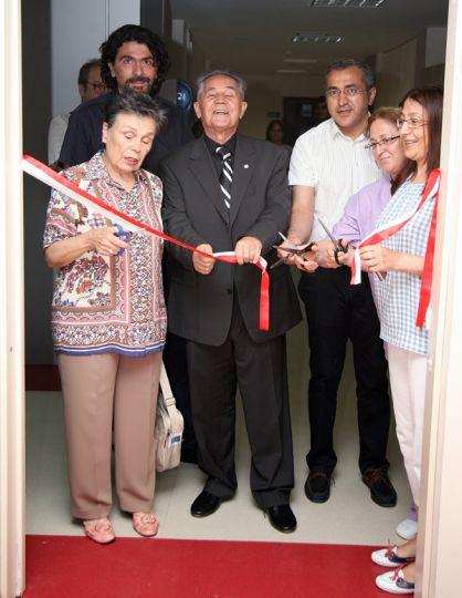 TÜ'de yeni anjiyografi cihazı hizmete açıldı