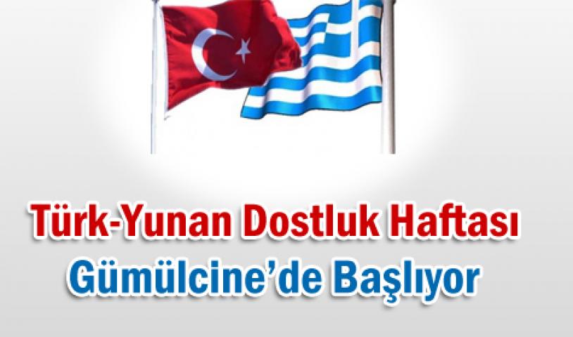 Türk-Yunan dostluk haftası başlıyor!