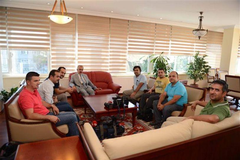 Vali Duruer gazetecilerle bir araya geldi!