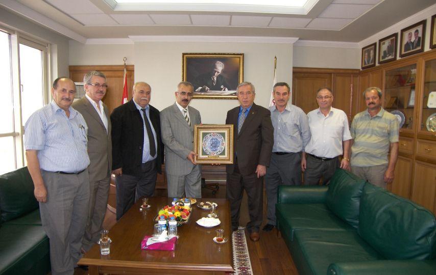 Vali Duruer'den Edirne Ticaret Borsası'na ziyaret!