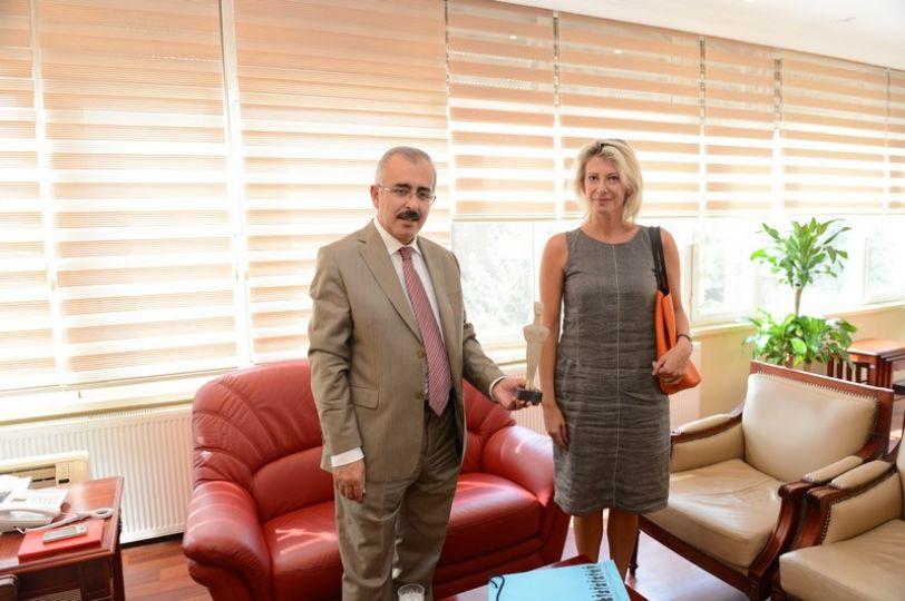 Yunanistan'ın Edirne Konsolosu Varvarigu'dan Vali Duruer'e ziyaret