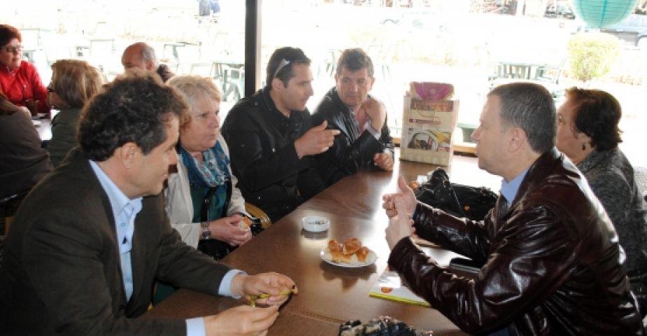 Yunanlı turistler Uzunköprü'yü ziyaret etti