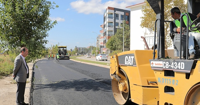 25 bin ton asfalt serilecek!