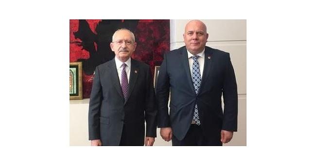 Pekcanlı, Genel Başkan Kılıçdaroğlu'nu ziyaret etti!