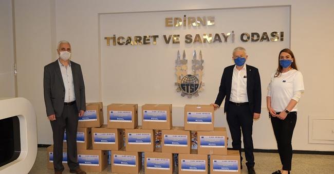 450 gıda paketinin dağıtımı 5 Mayıs'ta başladı