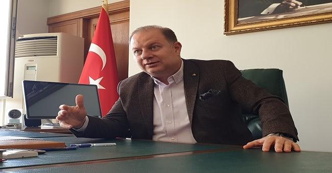 """ETB Başkanı Öztürk """"Tarakya'da verimler iyi ancak Doğu ve Güneydoğu'da endişe verici!"""""""