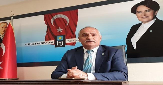 """İYİ Parti il Başkanı Demir"""" ekonominin yerlerde serildiğini görüyoruz!"""""""