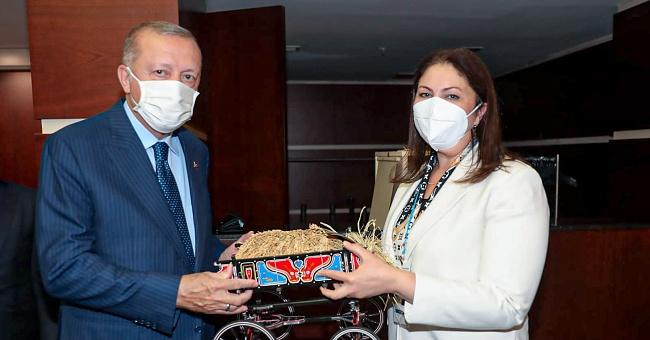 İba, Başkan Erdoğan ile görüştü!