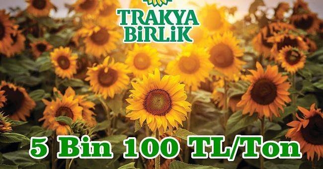 Trakya Birik açıkladı! Fiyat 5 bin 100 TL/ton