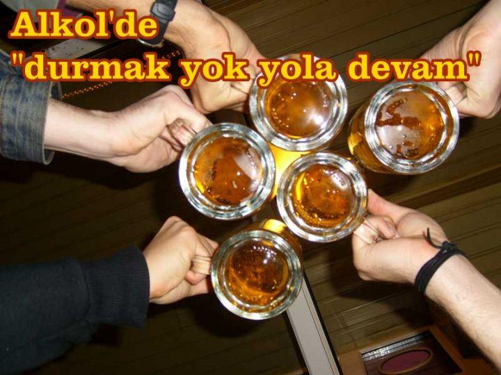Ak parti iktidarında alkol tüketimi arttı!
