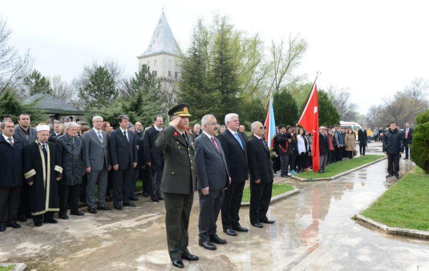 Balkan savaşı şehitleri anıldı!