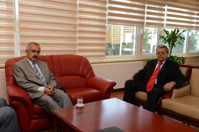 Bulgaristan'ın Edirne Başkonsolosu Popov'dan Vali Duruer'e ziyaret
