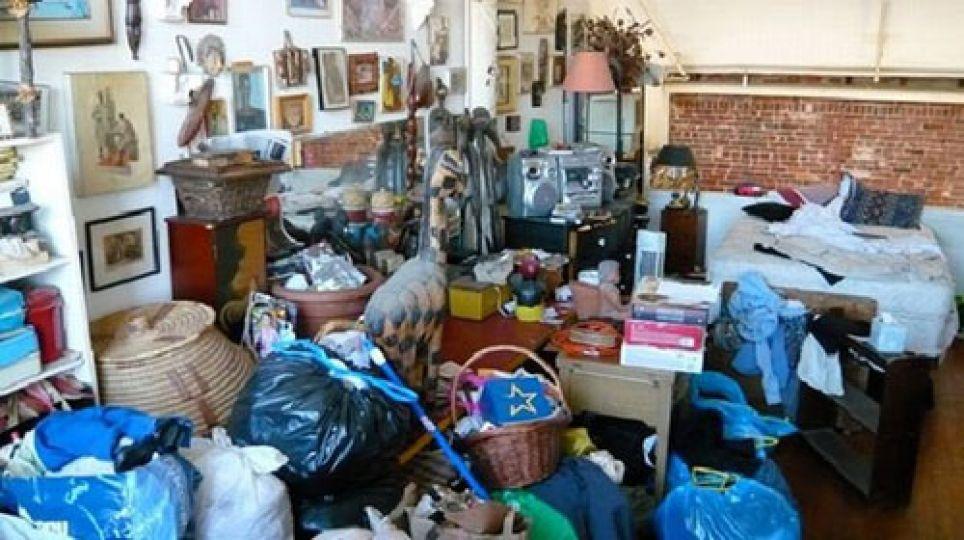 Çöp ev boşaltıldı!