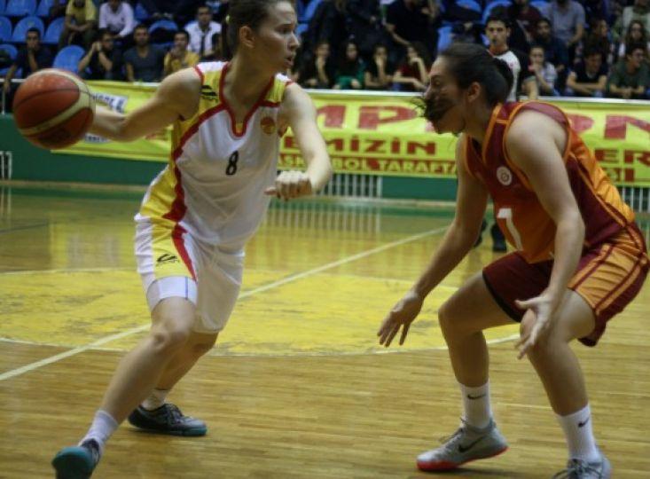 Edirne Belediyesi Edirnespor 57- Galatasaray Odeabank 63