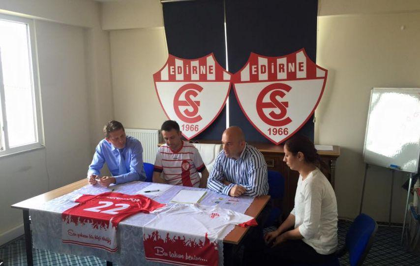 Edirnespor transferlere başladı