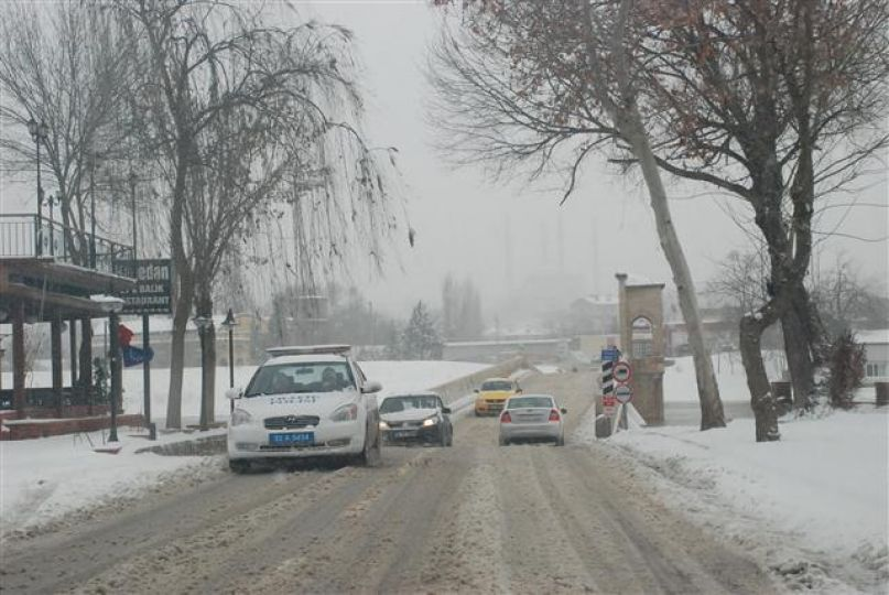 Kar kentte etkili!