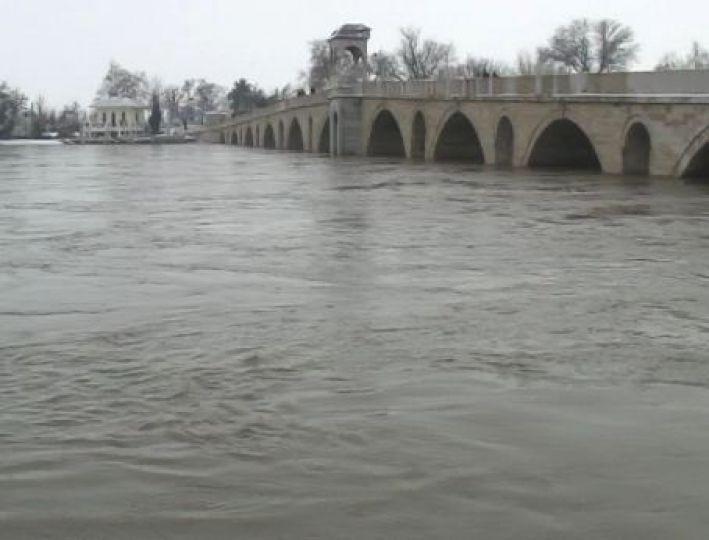 Nehir seviyelerinde artış normal!