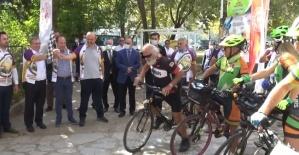 Uluslararası 3 kapı bisiklet festivali başladı